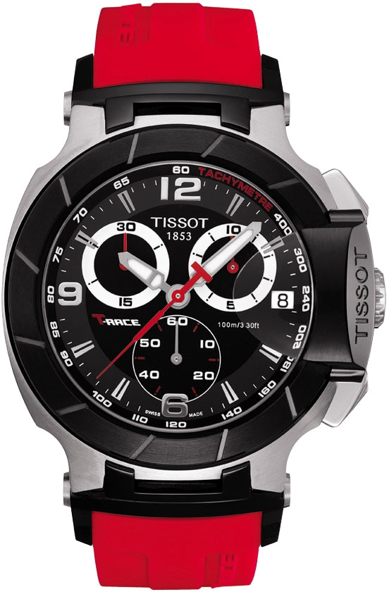 T-Race Chronograph Red Rubber