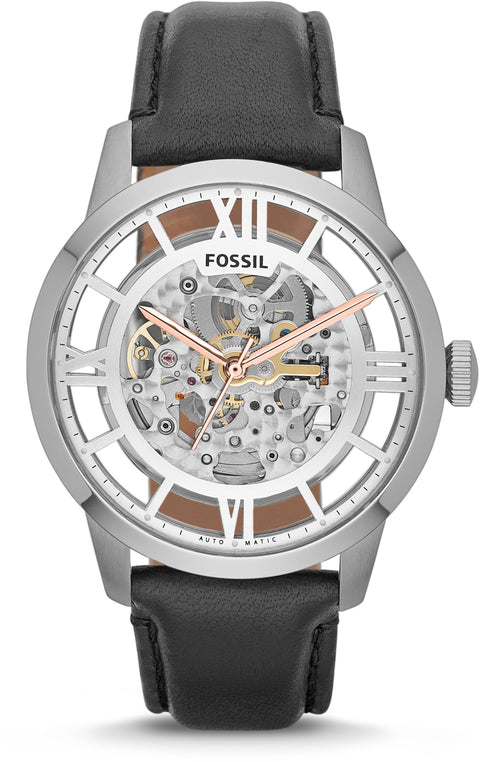 Townsman Automatic Black Leather