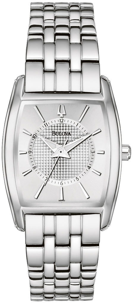 Silver Dial Stainless Steel Analog Womens Watch 96L130