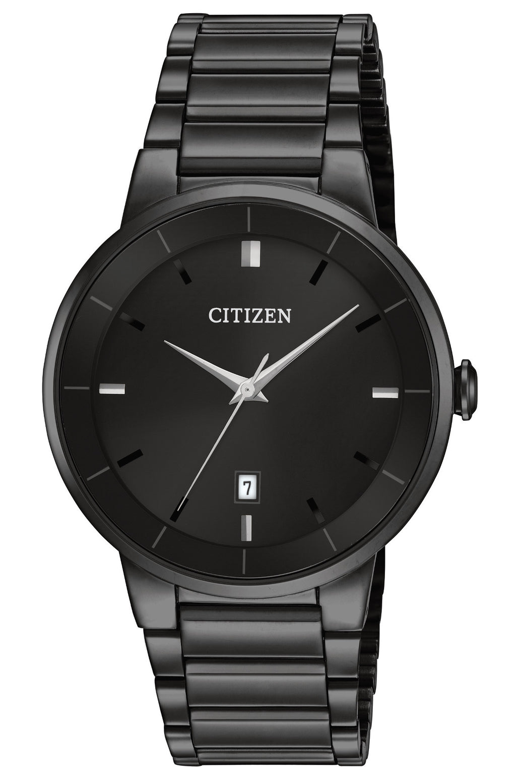Men's Black Dial Casual Watch