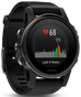 Fenix 5S Sapphire Black with Black Band Multisport Training GPS