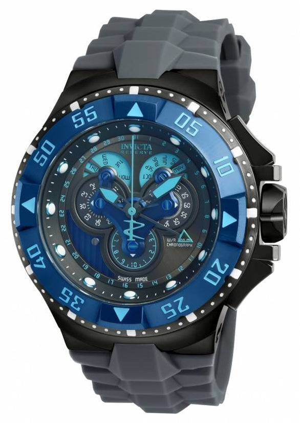 Excursion Men's Polyurethane Blue Dial