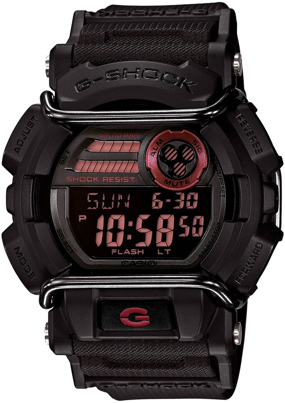 G-Shock GD400-1 Classic Series Black Dial Resin Strap Mens Watch