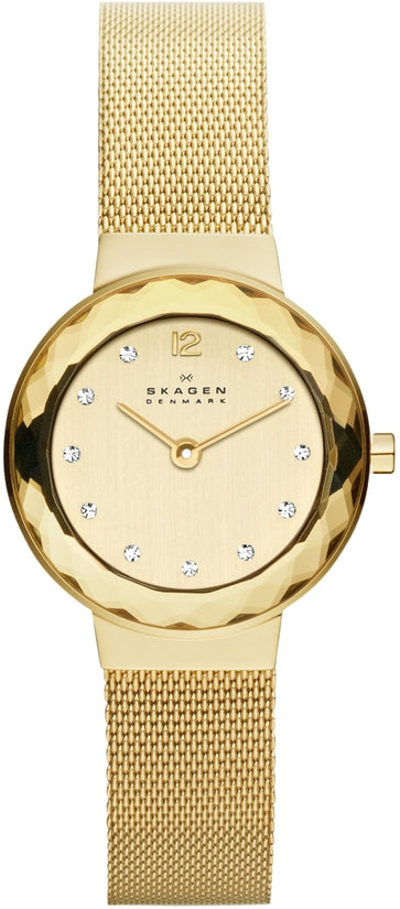 456SGSG Leonora Gold Tone Stainless Steel Strap Women's Watch