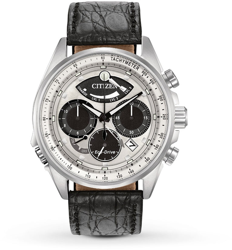 Limited Edition Calibre 2100 Chronograph Black Leather