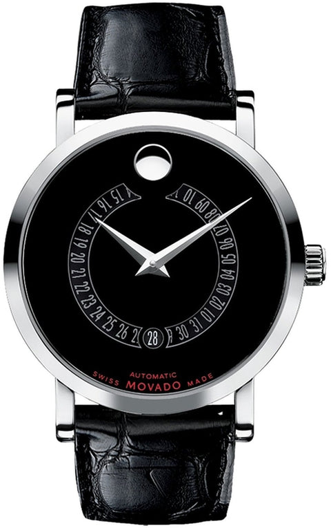 Red Label Automatic Black Leather