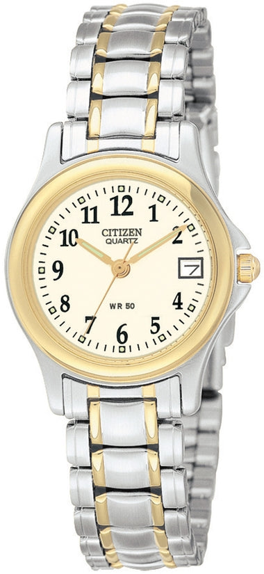 Champagne Dial Two-Tone Stainless Steel Womens Watch EU1974-57A