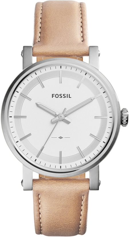 Original Boyfriend Silver Tone Sand Leather