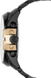 Mega Chief Chronograph Gold Tone Markers Black IP