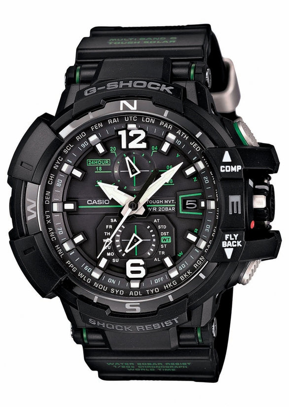 G-Aviation Solar Multifunction Black Resin
