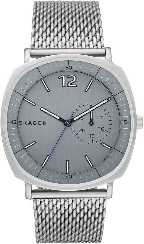 Rungsted Gray Dial Silver Tone Mesh