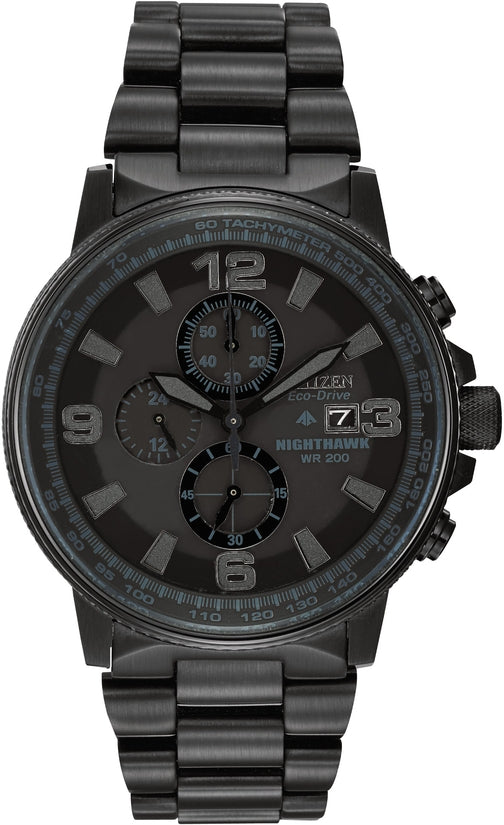 Nighthawk Chronograph All Black IP