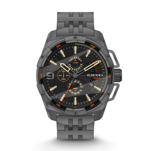 Heavyweight Chronograph Gunmetal IP