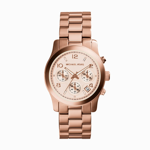 Runway Chronograph Rose Gold Tone