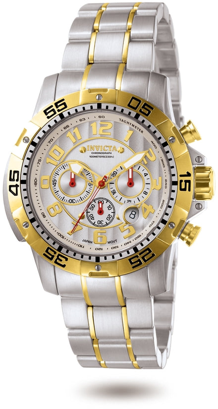 Signature Men's Stainless Steel Silver Dial
