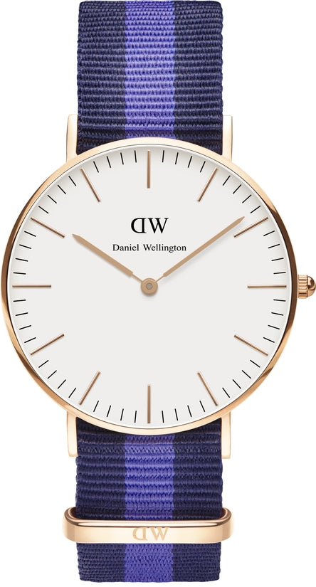 Classic Swansea Rose Gold 36mm