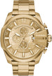 Mega Chief Chronograph Gold Tone Champagne