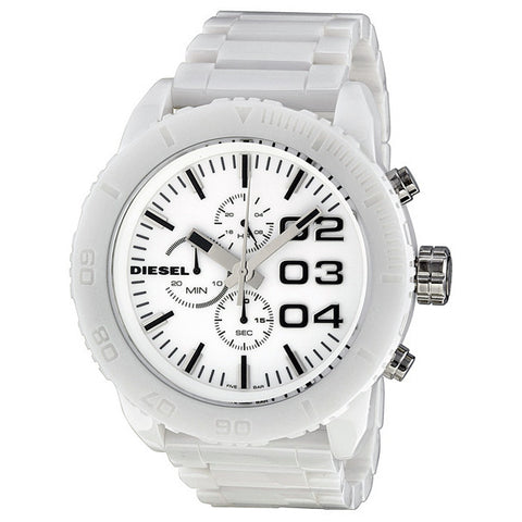 Heavyweight Chronograph White Ceramic All