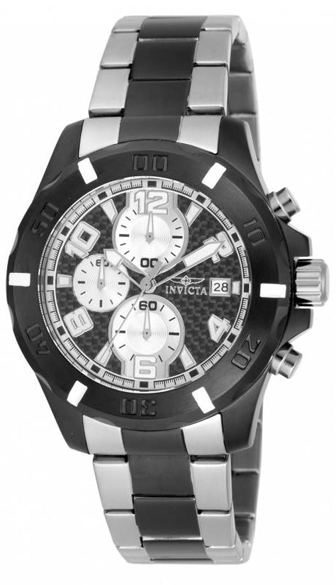 Specialty Men's Stainless Steel Silver Dial