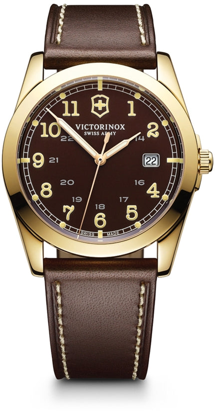 Infantry Brown Dial Leather Strap