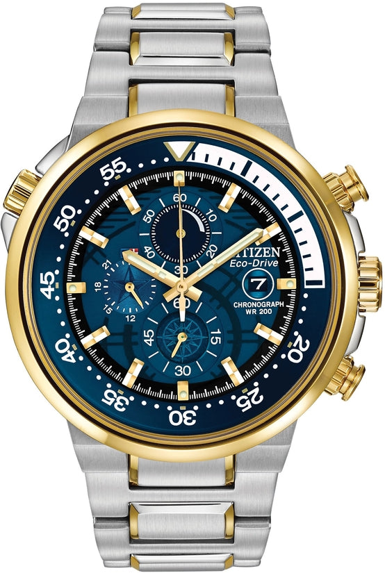 Endeavor Two Tone Blue Dial