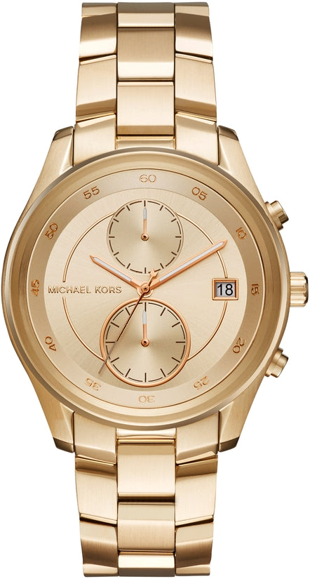 Briar Gold Tone Chronograph Gold Stainless Steel