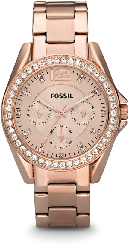 Riley Multifunction Rose Gold Tone