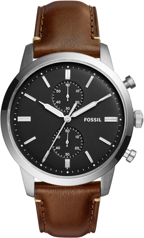 The Townsman Chronograph Brown Leather
