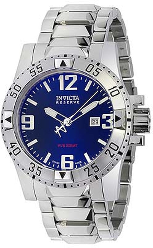 Excursion Men's Stainless Steel Blue Dial