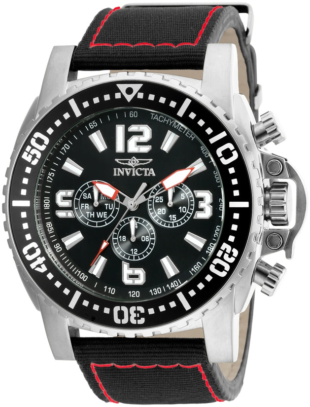 Pro Diver Men's Resin Black Dial