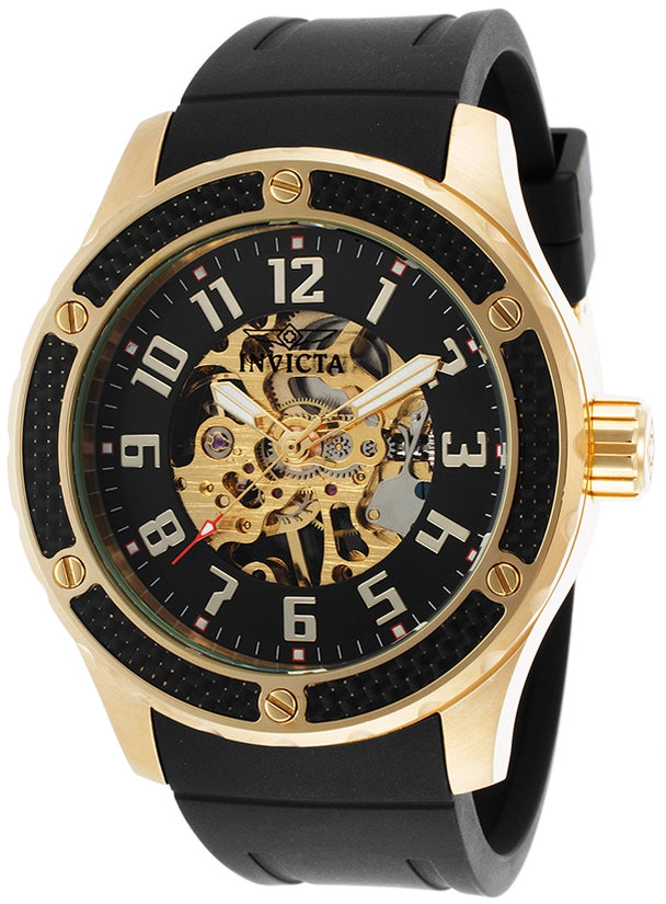 Specialty Men's Polyurethane Gold Dial