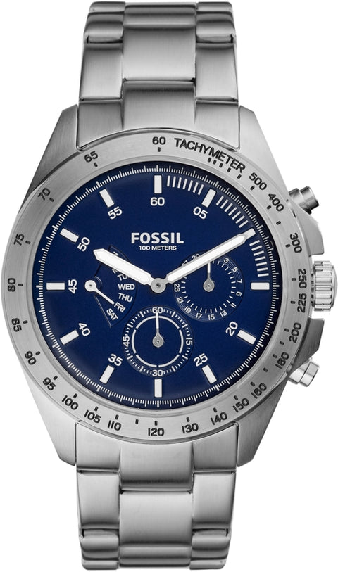 Sport 54 Multifunction Silver Tone