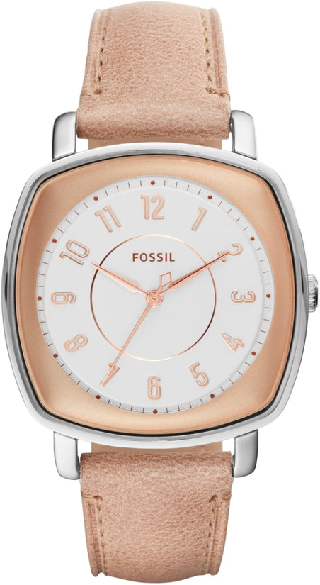 Idealist Rose Gold Tone Pink Leather