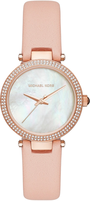 6a60dacacf27 Mini Parker Rose Gold Tone Pink Leather – the-time-store1