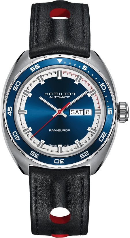 Pan-Europ Automatic Black Leather