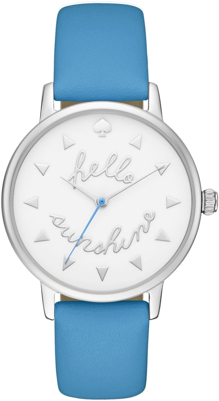 Idiom Metro Alice Blue Leather Strap