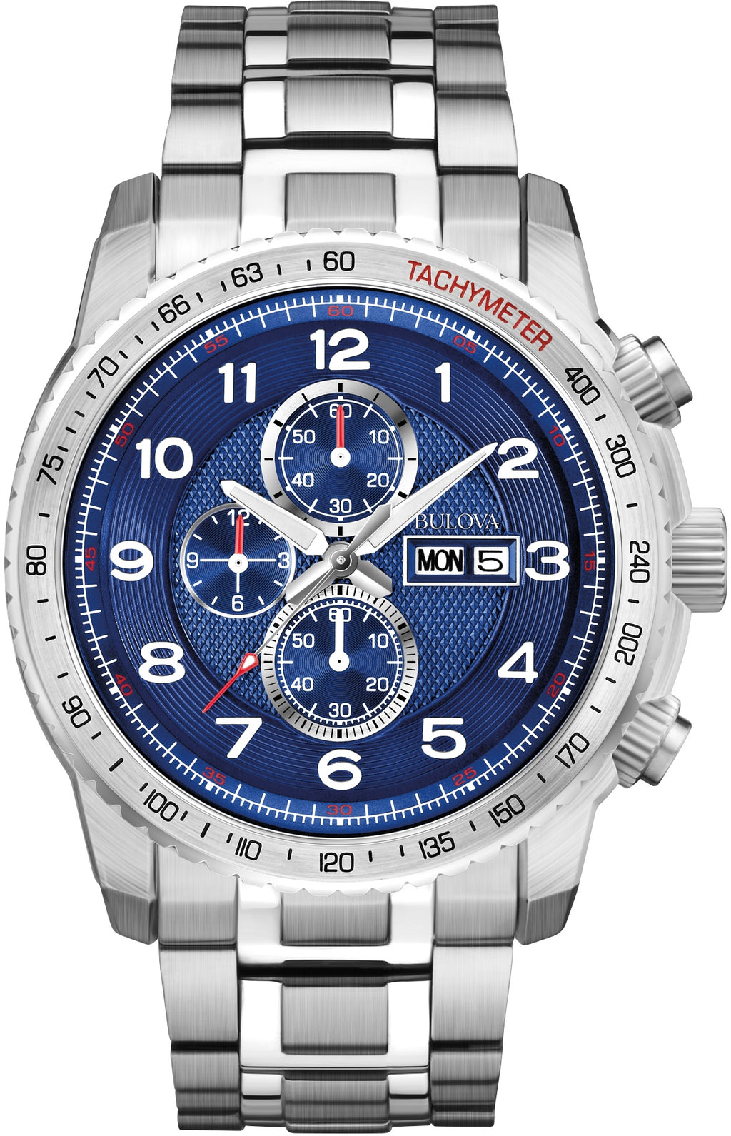 Marine Star Blue Dial Stainless Steel Mens Watch 96C121