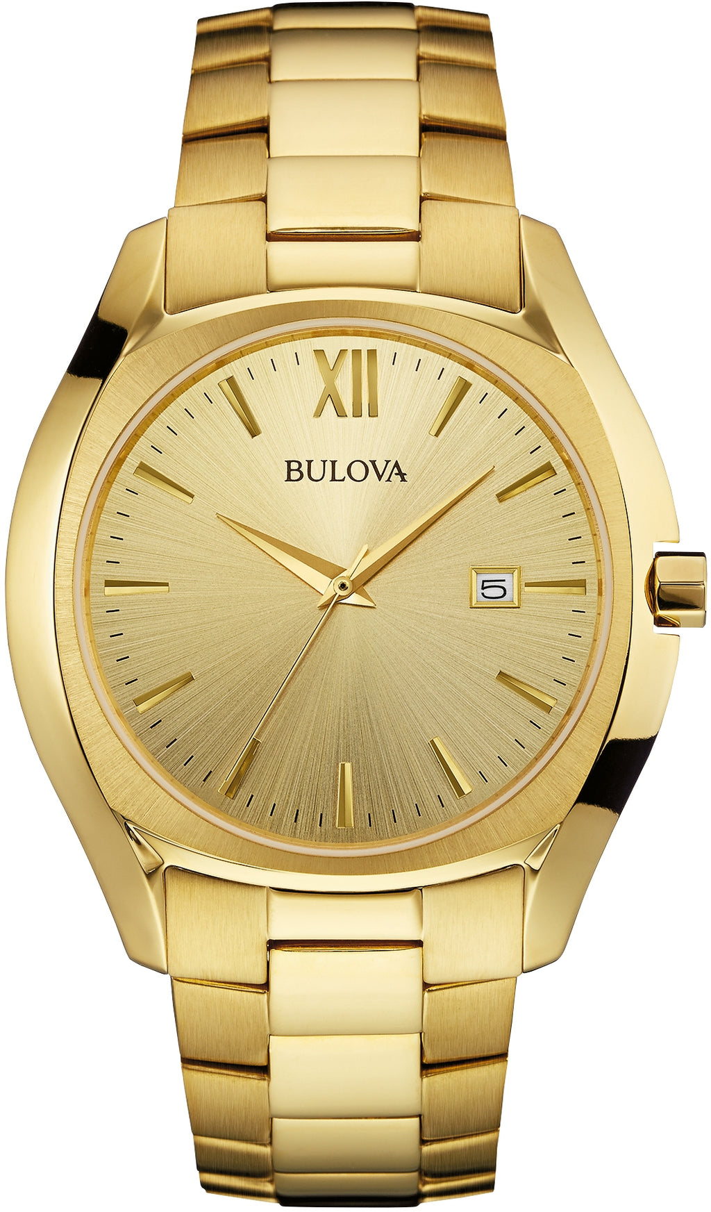 Classic Gold Tone Champagne Dial