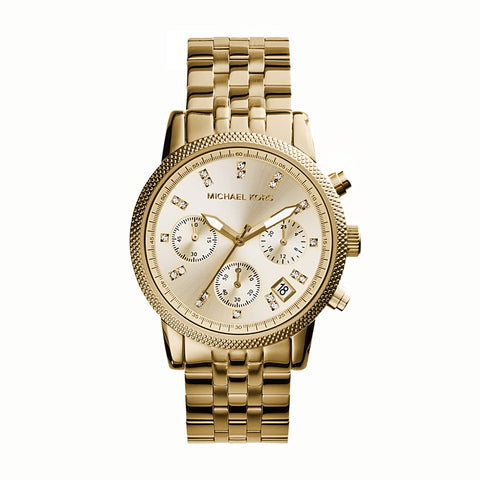 Ritz Chronograph Gold Tone