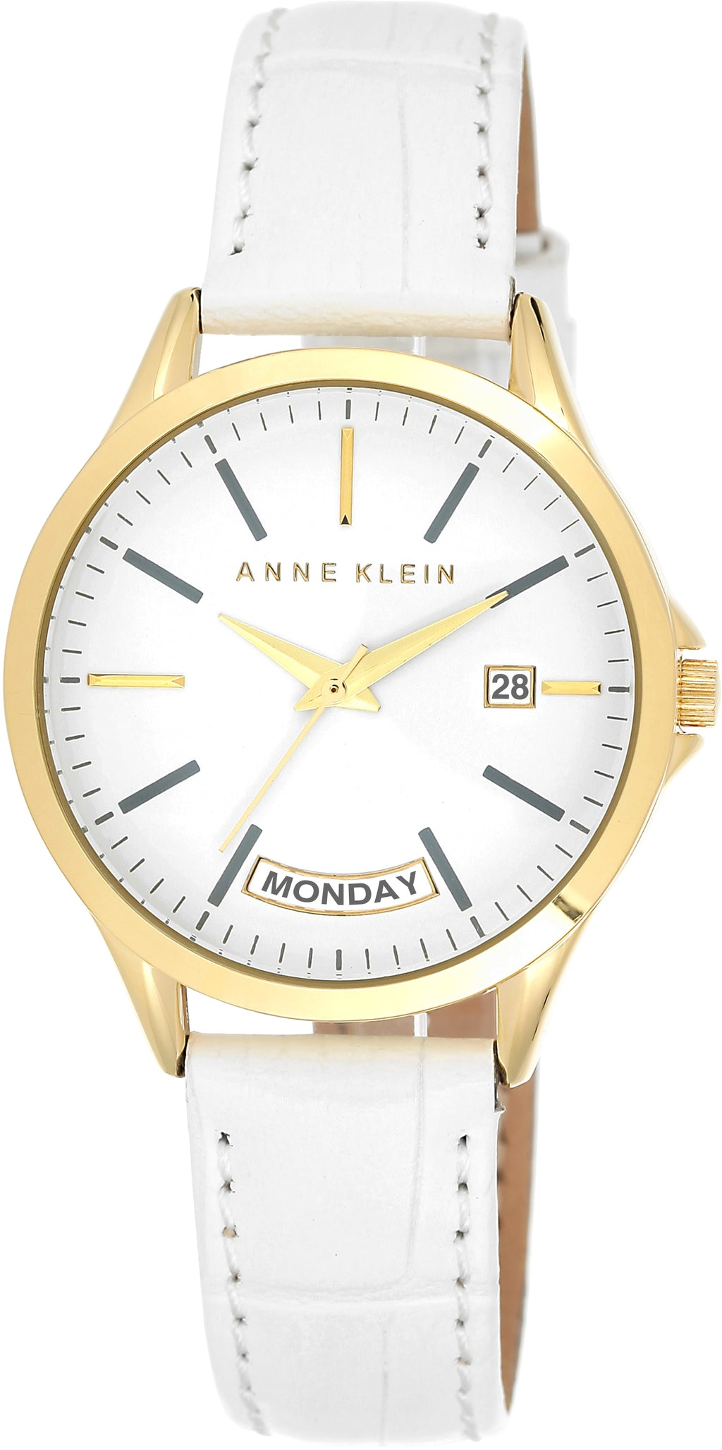 Women's Genuine Leather White Dial