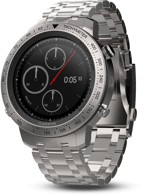 Fenix Chronos GPS Steel Activity Tracker HR