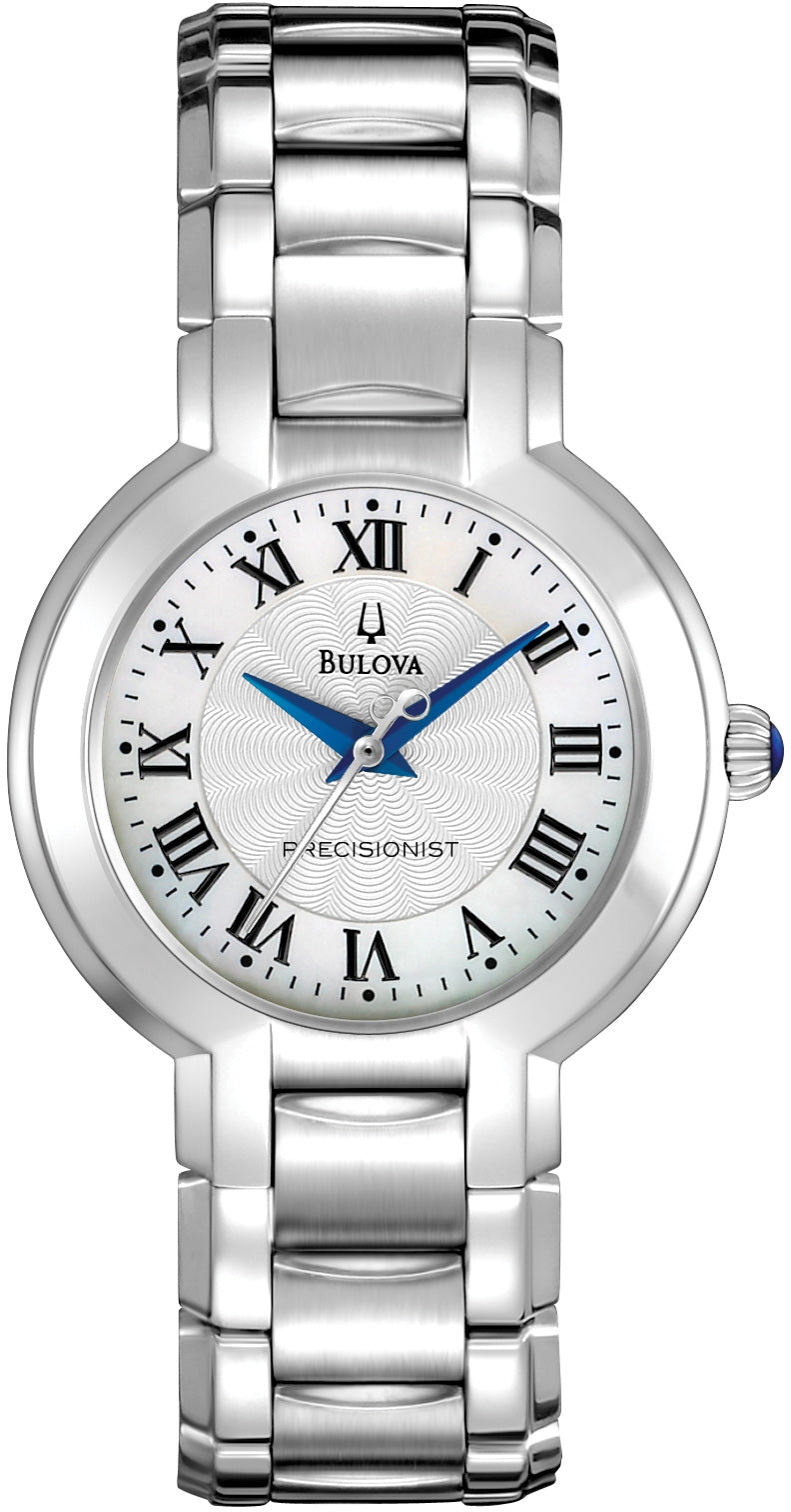 Fairlawn Classic Blue Hands Stainless Steel Womens Watch 96L168