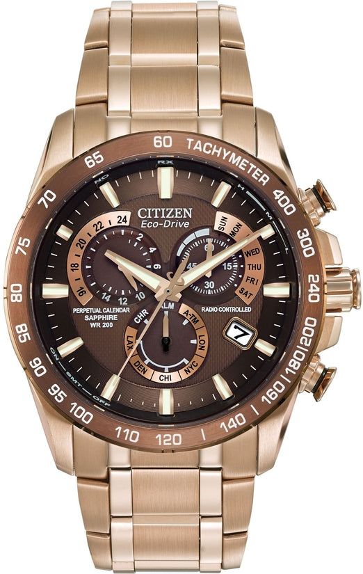 Perpetual Chrono A-T Rose Gold Tone
