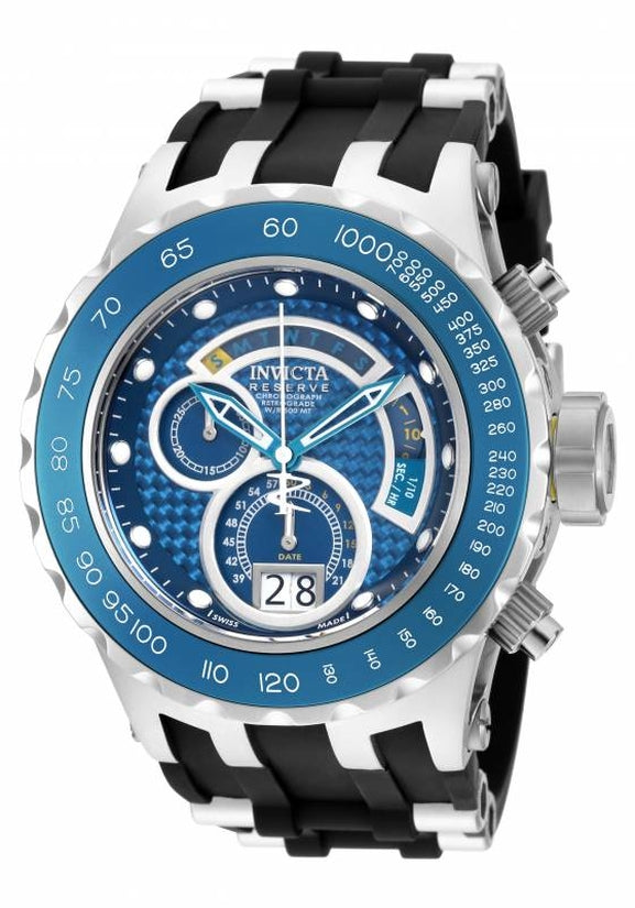 Subaqua Men's Polyurethane/Stainless Steel Blue Dial