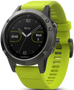 Fenix 5 Slate Gray with Amp Yellow Band Multisport Training GPS