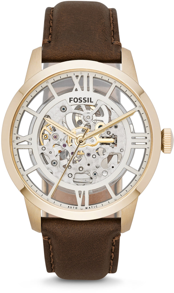 Townsman Automatic Brown Leather