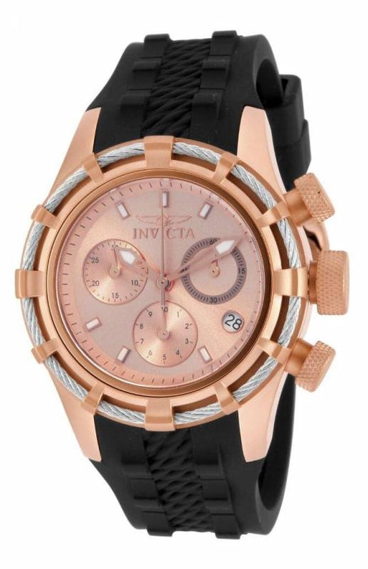 Bolt Women's Silicon Rose Gold Dial