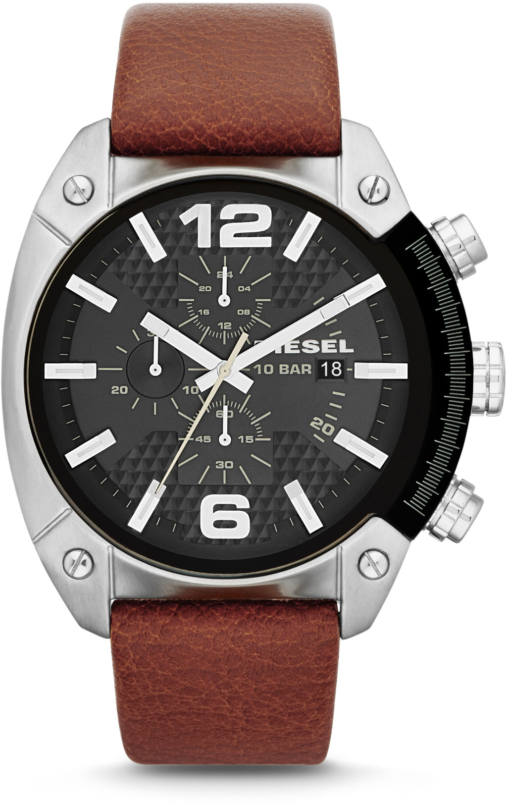 Overflow Chronograph Brown Leather