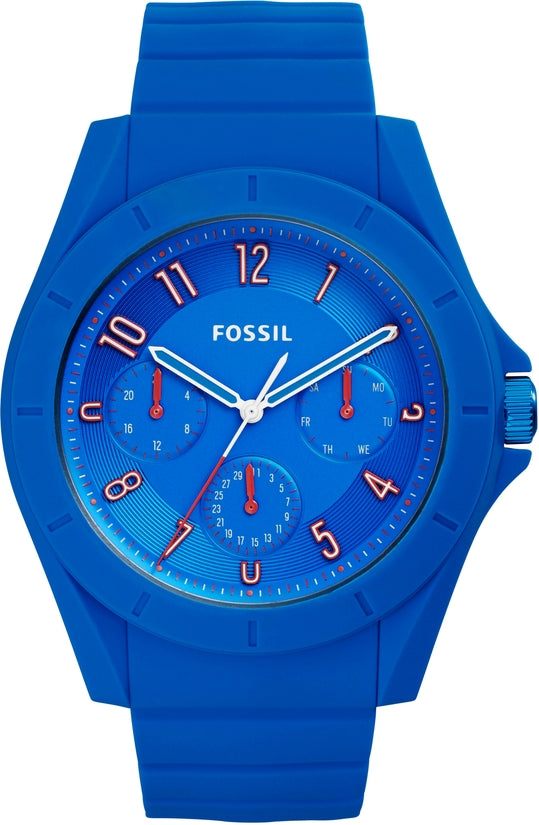 Poptastic Sport Multifunction Blue Silicone