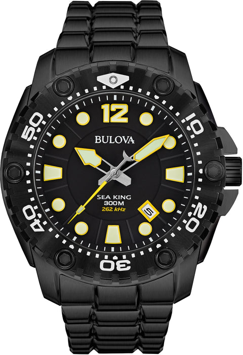 Sea King Black IP Diver's 300m
